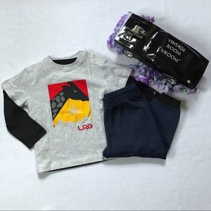 LRG NWOT Outfit for Boys 18M